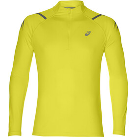 asics Icon Running Shirt longsleeve Men yellow